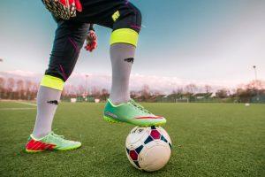footballeur ballon